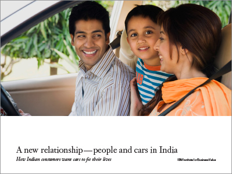 A new relationship - people and cars in India: How Indian consumers want cars to fit their lives