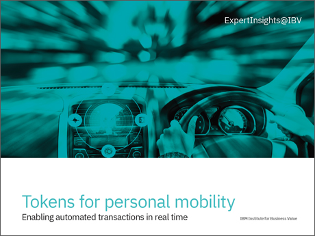 Tokens for personal mobility: Enabling automated transactions in real time