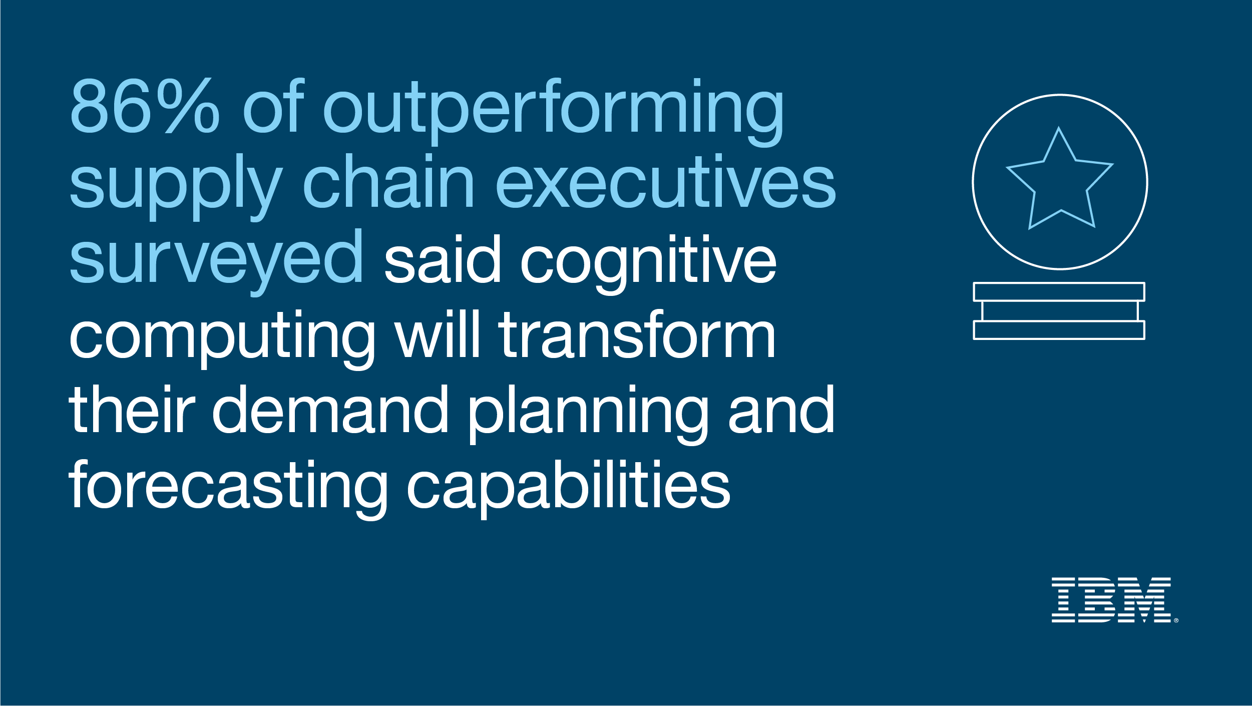 IBM - Welcome to the cognitive supply chain - United States