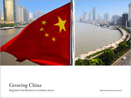 Growing China: Regional contributions to economic success