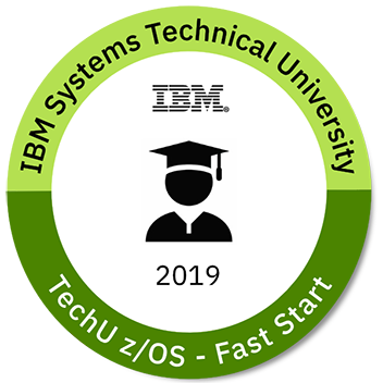 2019 TechU – z/OS Fast Start for Rookies