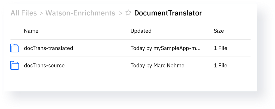 Automatically translate your documents